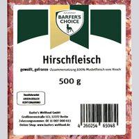 Hirschfleisch 500g