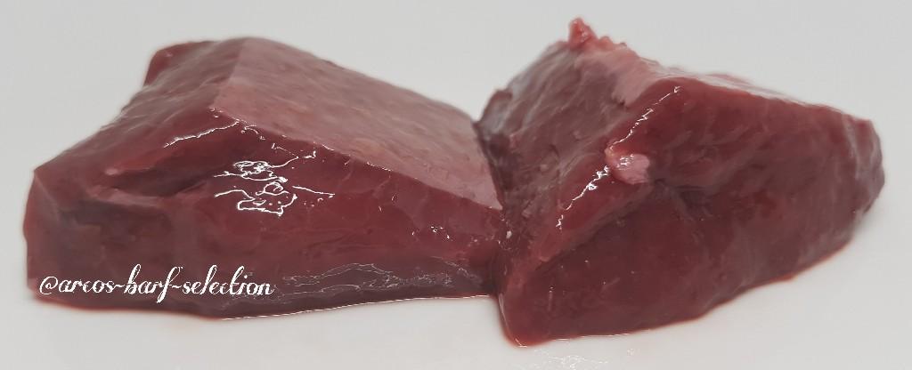 Rindermilz, geschnitten, 500 g