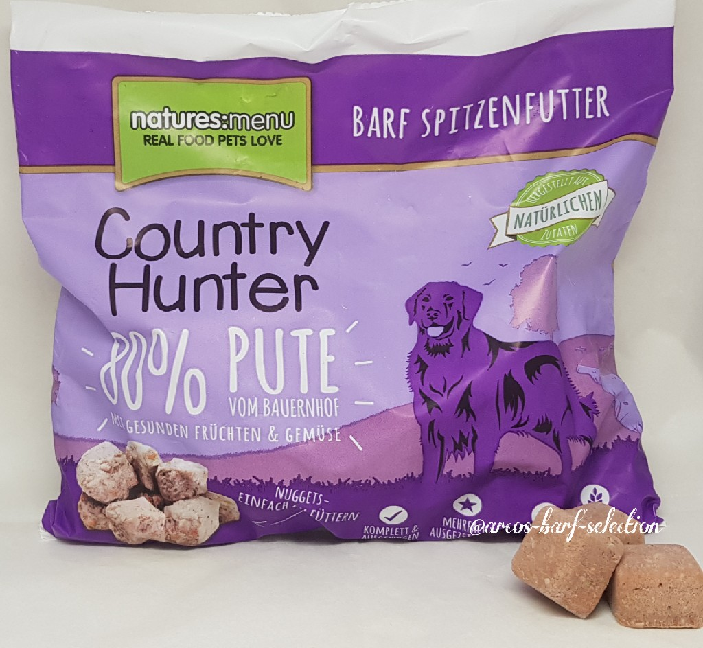 Natures Menu - Country Hunter: Pute vom Bauernhof Nuggets 1kg