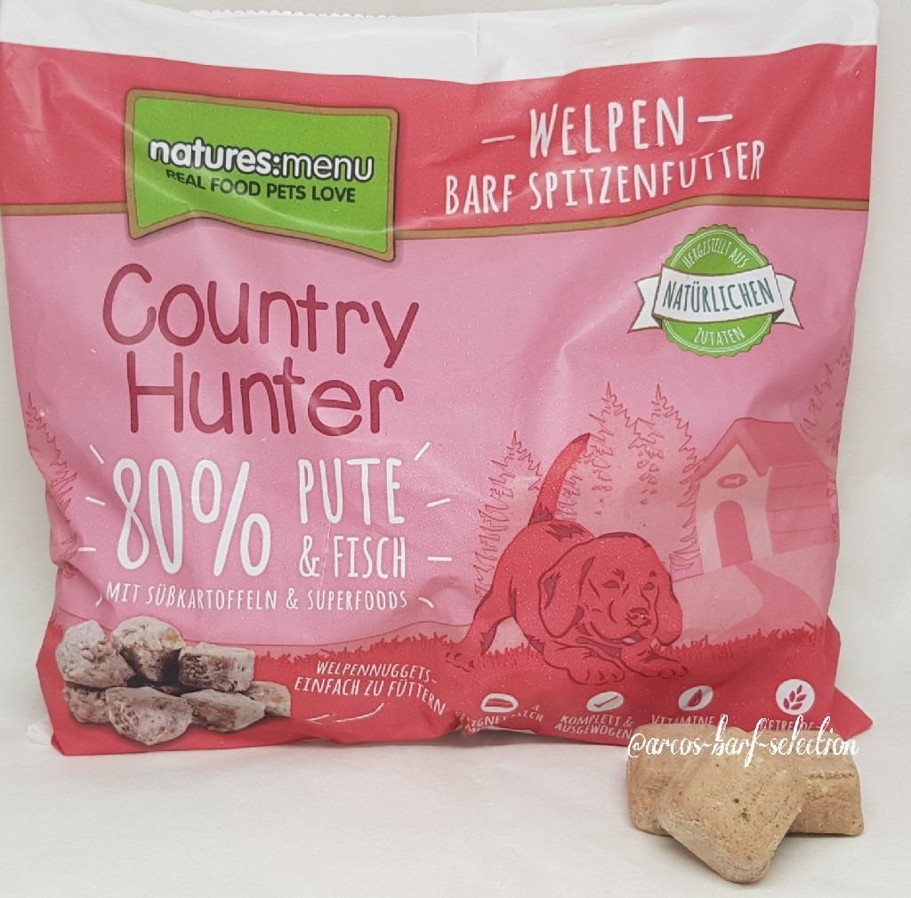 Natures Menu - Country Hunter: Welpen Nuggets 1kg (Pute & Fisch)