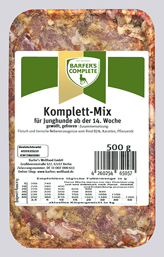 Komplett-Mix Junior 500g