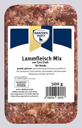 Lammfleisch-Mix pur 500g