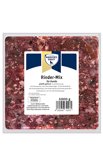 Rinder-Mix, gewolft, 1kg