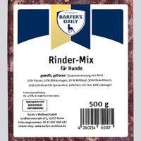 Rinder-Mix, gewolft, 500 g