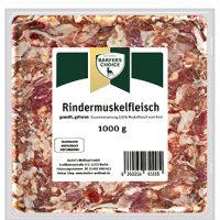 Rinder-Muskelfleisch, gewolft, 1kg