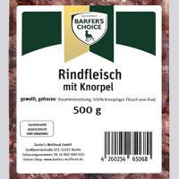 Rindfleisch mit Knorpel 500g