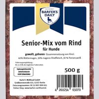 Senior-Mix, gewolft, 500 g