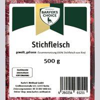 Rinder-Stichfleisch, gewolft, 500 g