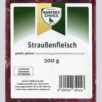 Straußenfleisch, gewolft, 500 g