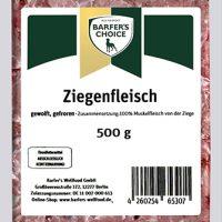 Ziegenfleisch, gewolft, 500 g